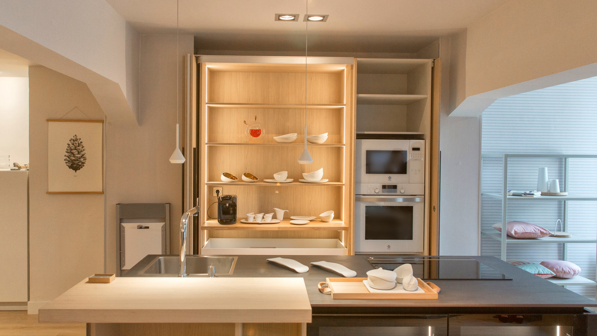 Cocina de diseño de Estudio Jauregi.