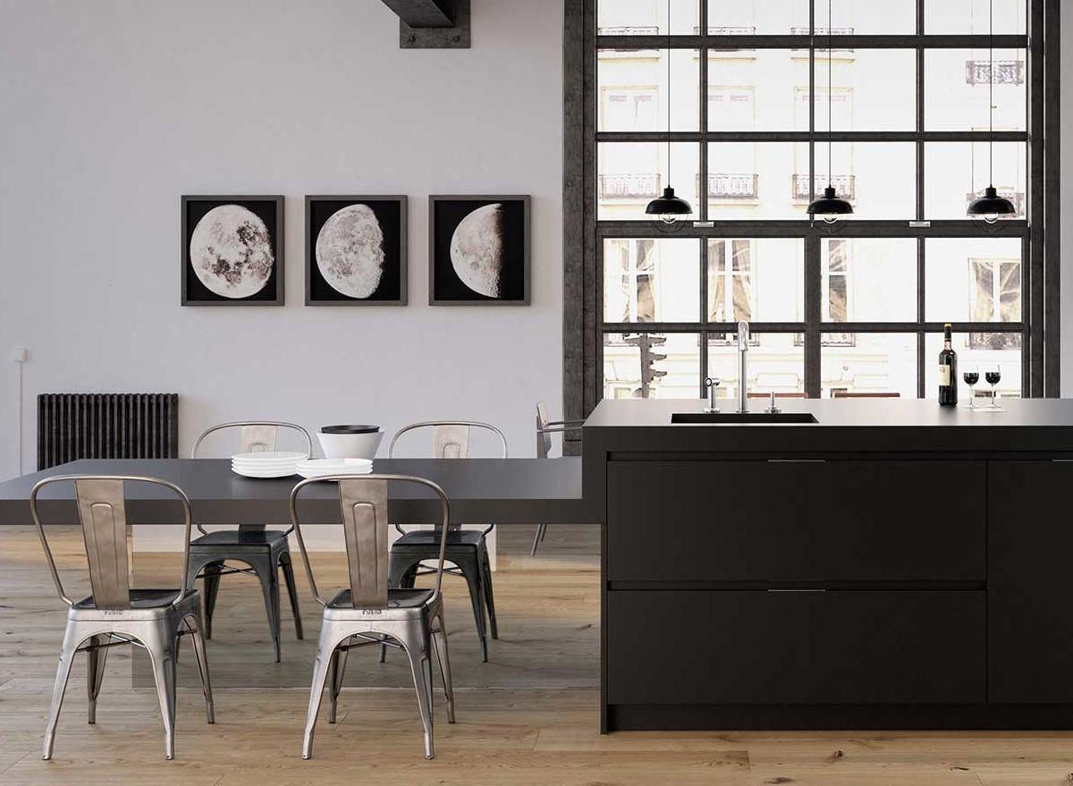 Muebles de cocina - Estudio Jauregi